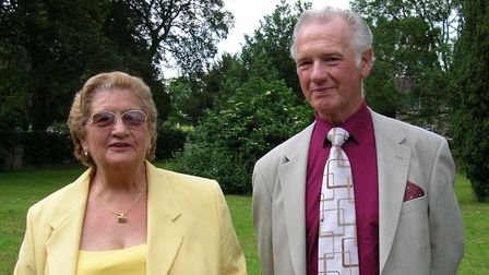 John Ransome with wife Valerie in 2006, a year before their 50th wedding anniversary. Picture: Irwin