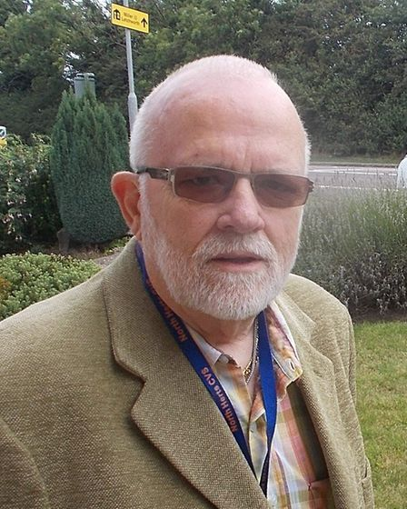 Anthony Balls has been nominated for a Comet Community Award. Picture: North Herts CVS