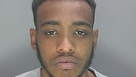 Levi Simms from Hitchin was sentenced to six years in prison after he falsely imprisoned and assault