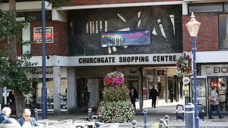 A bid for Churchgate Shopping Centre in Hitchin to be regenerated is to be put forward. Picture: DAN