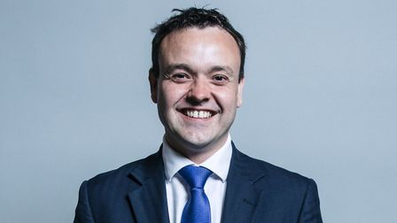 Stevenage MP Stephen McPartland is supporting flat owners at Six Hills House. Picture: Chris McAndre