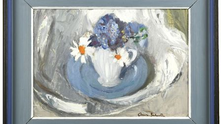 Anne Redpath's Blue Plate sold for £31,000 – more than three times its lower estimate of £10,000.