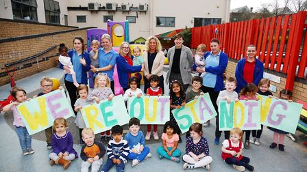 Wonderland Day Nursery in Letchworth Garden City has been awarded an outstanding Ofsted report again