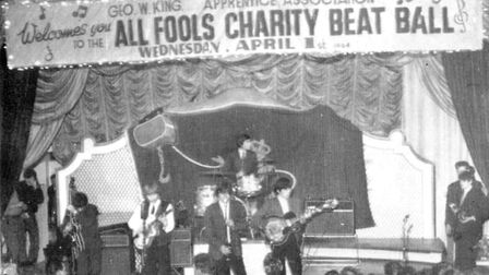 The Rolling Stones perform at Stevenage's Locarno Ballroom on April 1, 1964. Picture: Alan Ford, Our