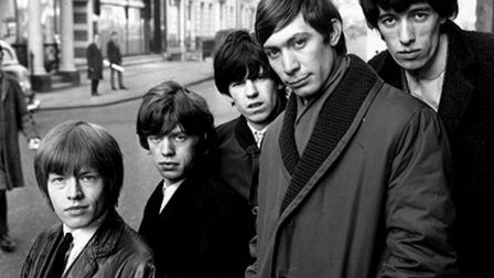 The Rolling Stones: Brian Jones, Mick Jagger, Keith Richards, Charlie Watts and Bill Whyman. Pictur