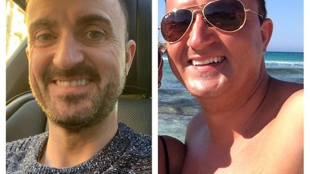 Chris has lost 5 stone since his diagnosis three years ago. Picture: Chris Chipperfield