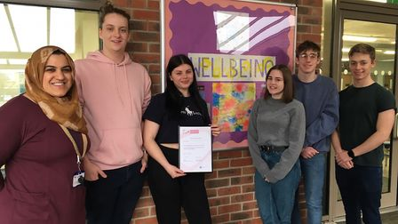 Highfield School in Letchworth has received the Wellbeing Award for Schools. Picture: Highfield Scho