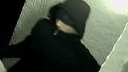 Police would like to speak to this man in connection with a burglary in Willian, Letchworth. Picture