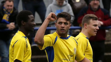 Michael Thalassitis scored six goals for the Saints in 13 league starts. Picture: Leigh Page