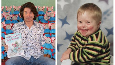Richard Barr has released a children's book in memory of his son Tom, who sadly died in 2004. Pictur