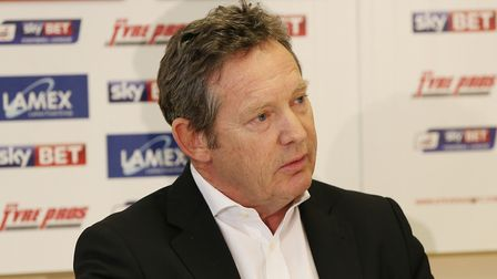 Stevenage FC chairman Phil Wallace. Picture: Danny Loo