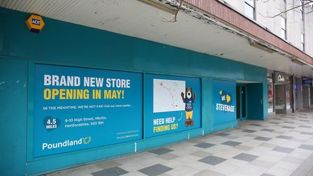 Poundland in Stevenage Town has closed and is relocating to a larger premises. Picture: DANNY LOO
