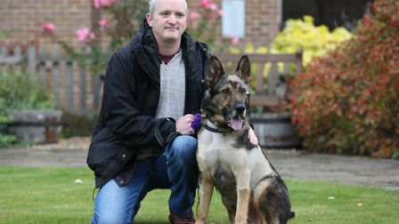 PC Dave Wardell and PD Finn are both recovering well after being seriously injured attending a call