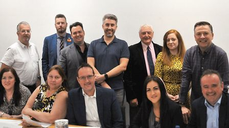 Our judges for the Comet Community Awards 2019. Picture: Dan Mountney