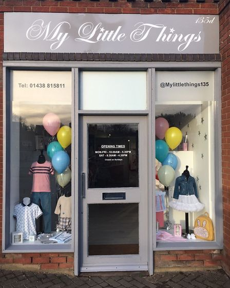 My Little Things in Knebworth stocks high quality, trendy children's clothes.