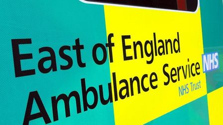 Ambulance crews attended a chemical spill in Hitchin were people had suffered with burns.
