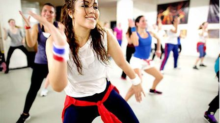 A free Zumba session is being held at the MS Trust's base in Letchworth. Picture: Archant