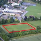 The site of the proposed 3G pitch at Saffron Walden County High School. Picture: CONTRIBUTED