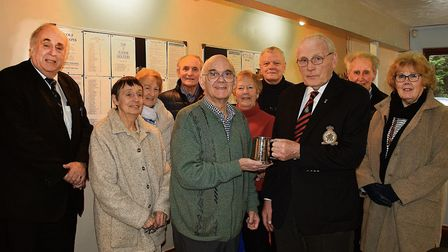 The Letchworth, Hitchin and District branch of the Royal Air Forces Association held its first month
