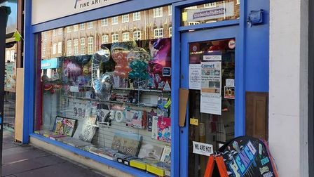 Penco in Hitchin will be closing its doors for the last time after 23 years in Hermitage Road. Pictu