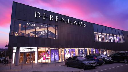 The Debenhams branch in Stevenage won't be affected by current closures. Picture: Danny Loo