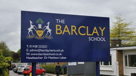 The Barclay Academy in Stevenage. Picture: Dan Mountney