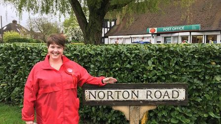 """Letchworth Grange councillor Helen Oliver wants to help """"make residents' voices heard"""" during the pl"""