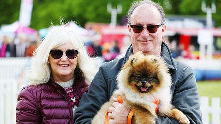 Visitors to DogFest 2019 at Knebworth House. Picture: DANNY LOO