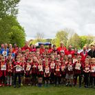 Ashdon fun run - some £3,000 has been raised for the campaign to build a 3G football pitch in Saffro