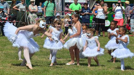 Walsworth Festival 2018: Lesnick School of Ballet and Theatre Arts. Picture: Alan Millard