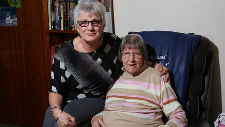 Linda Auburn's mum, Lilian, uses a wheelchair and isn't able to shop at Tesco Extra in The Forum bec
