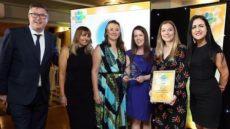 Comet Community Awards 2019: Nurse/Care Worker of the Year Keech Hospice Care with Eme Cameron from