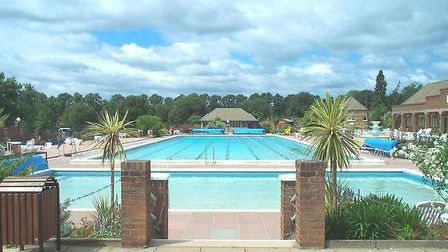 Hitchin outdoor pool. Picture: NHDC