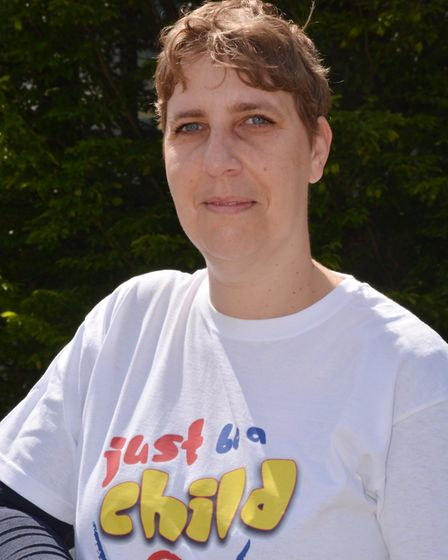 Lenka McAlinden founded Just Be A Child in 2013. Picture: Kevin Lines.