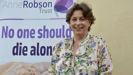 Liz Pryor, the founder of the Anne Robson Trust. Photo: Anne Robson Trust