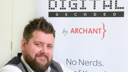 Jamie Brown, from the Archant learning and development team, who is leading the series of Digital De