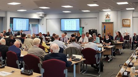 North Herts District Council met for the first time since May's local elections, with Labour and Lib