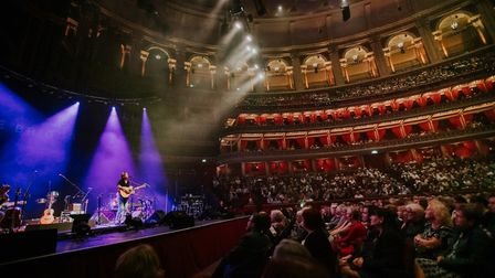 Hattie Briggs performing at the Royal Albert Hall. Picture: Oxford Atelier