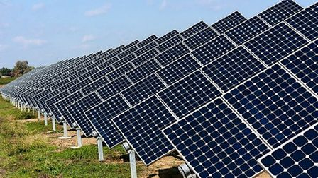 Solar panels could be installed on around 2,100 North Herts homes under new plans announced by Labou