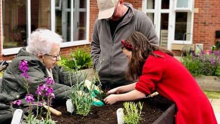 Foxholes Care Home is set to put on its own version of the Chelsea Flower Show this July. Picture: F