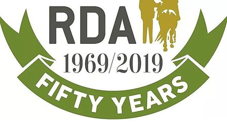 The Riding for Disabled Association's 50 year logo. Picture: RDA