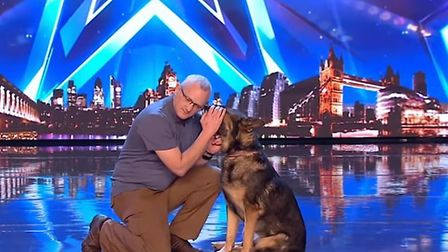 PC Dave Wardell and 'magical' Finn took impressed Britain's Got Talent judges on Saturday's programm