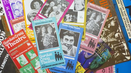 Brochures and programmes from The Gordon Craig Theatre Archive. Picture: Louise Hall