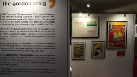 The Stories From The Gordon Craig exhibition in Stevenage. Picture: Alan Davies