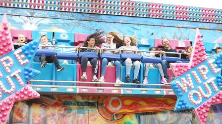 Stevenage Day 2019 brought out plenty of smiles.Picture: Karyn Haddon