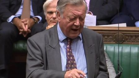 Ken Clarke slams Boris Johnson. Photograph: Parliament TV.