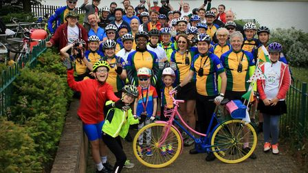 Cyclists of all shapes and sizes will be gearing up for a fun week of events. Picture: Jim Brown