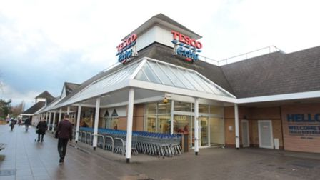 The incident occurred near Tesco in Stevenage town centre. Picture: Danny Loo