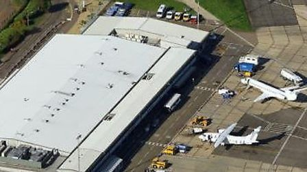 Norwich Airport where Saxon Air is based. Picture: Archant