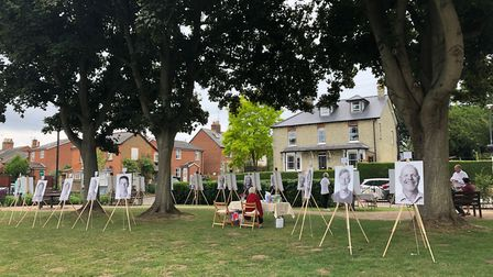 The exhibition in Walkern at the weekend celebrated the lives of the older generation. Picture: Chri